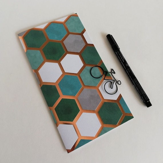 Clearance STANDARD Travelers Notebook Insert, size 21 x 11 cm, Midori Style, Lined, Dots, Grid or Blank, 24 lb / 90 gsm paper - CL001