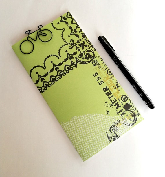 Traveler's Notebook Insert - Bullet Journal - Fauxdori Insert - Midori Insert - Personal Log - Diary - Travel Log - Financial Log - N492