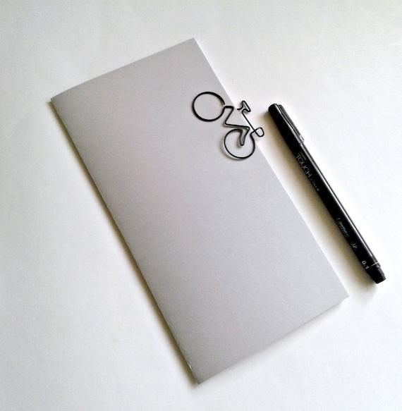 DOVE GREY Travelers Notebook Insert - Midori Insert - Regular Standard Wide B6 Personal A6 Pocket Field Notes Passport Micro Gray - N516