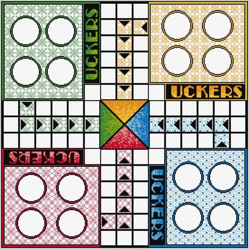 Uckers Board Stitch your Own