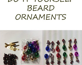 Beard Bauble Ornaments