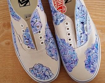6d718ed8818541 Custom Tropical Sunset Vans Shoes