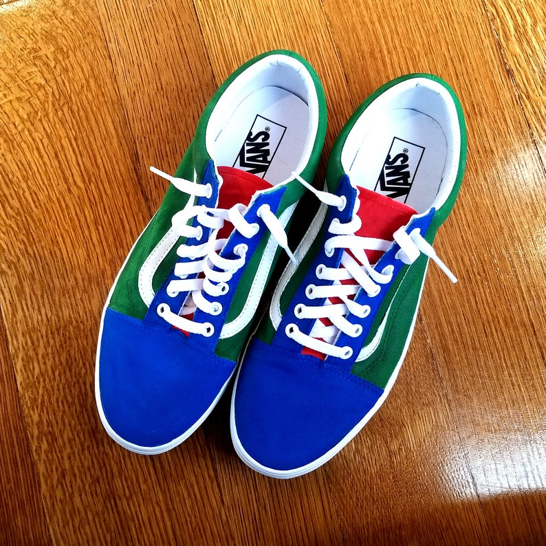 d1ec3e22 Custom Yacht Club Vans Old Skool Shoes Personalized Hand Painted