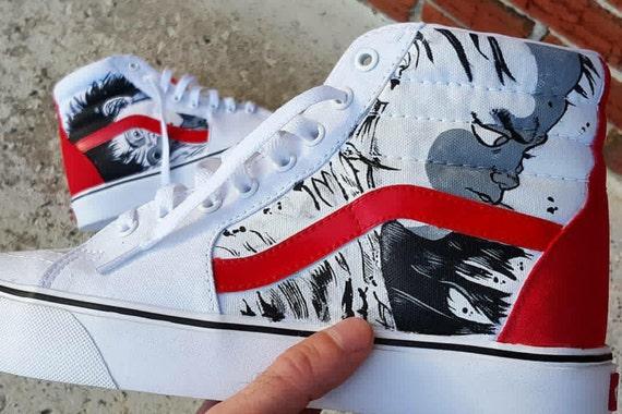 De Chaussures Elle Hi La Custom Peint Personnalisé Main Vans Mesure Pour Baskets Sk8 Sur Cadeaux À Shoes qn1waIHaY