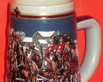 Beer Stein 1988 Santa Anita Park Oak Tree 20th Season Etsy