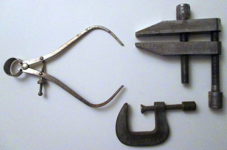 Vise Clamp- - -Outside Caliper --OLD and