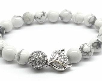 Bracelets: Pave Fox