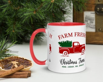 Holiday- Mug with Color Inside