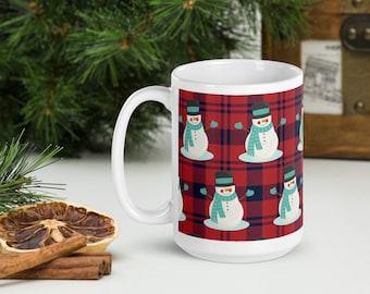 Holiday- White glossy mug