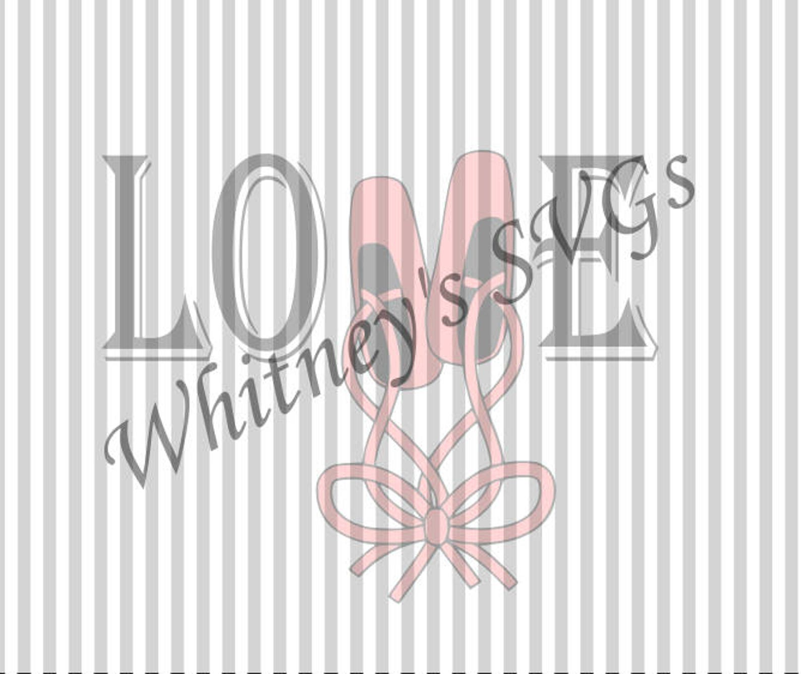 ballet love svg dxf cutting file