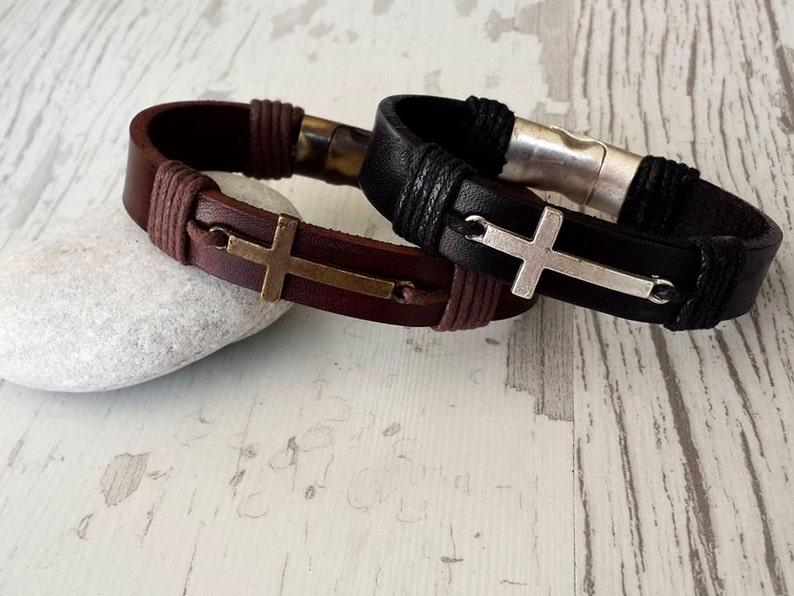 christmas gift 2019 Couples Bracelets Set Personalized image 0