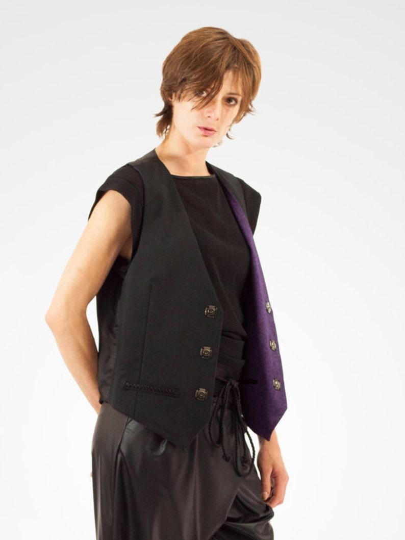 Free unisex reversible sleeveless vest LIVRAISON FREE image 0