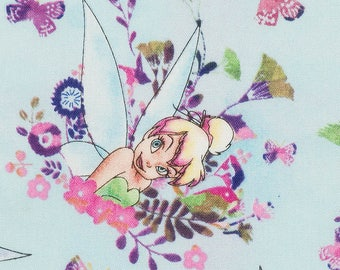 Tinker Bell fabric Tink watercolor SK214