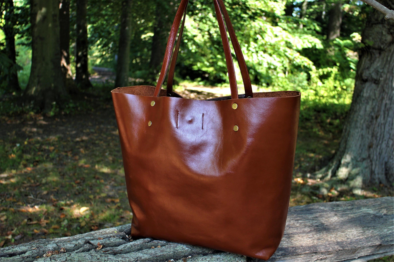 SALE Soft Brown Italian Leather Women s Handbag Black  5a4d744d893a3