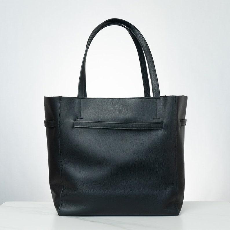 SALE Tribeca Tote PINK,black ltalian leather tote bag,black leather handbag,olive green leather women bag,black genuine leather bag