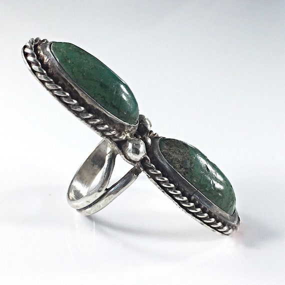 American Native Turquoise Ring size 5.75