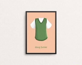 d7cbb165 Doug Funnie T-Shirt and Vest Illustration / Doug Art Print