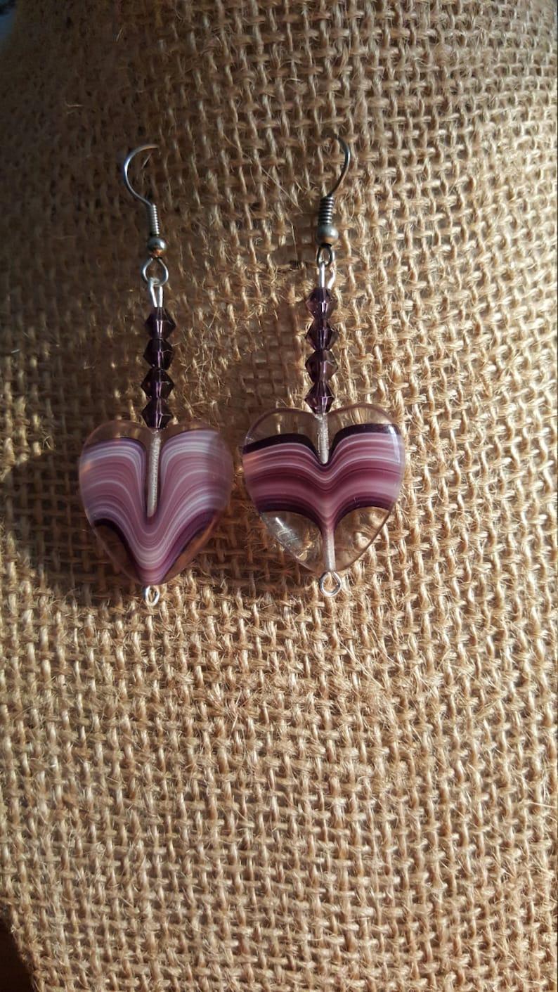 All Purple Earrings