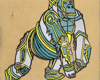 The Golden Palace's Mech Gorilla Fred