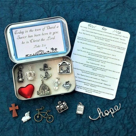 Weihnachten Gebet Box Kind Gebet Box Krippe Geschenk Christian Etsy