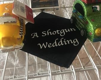A Shotgun Wedding Handkerchief