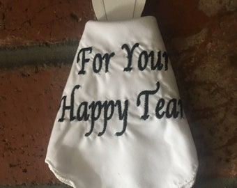 For your happy tears on dress form