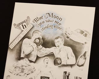 Ricky Hatton Tribute Drawing.  A4 & A3 Art Prints.