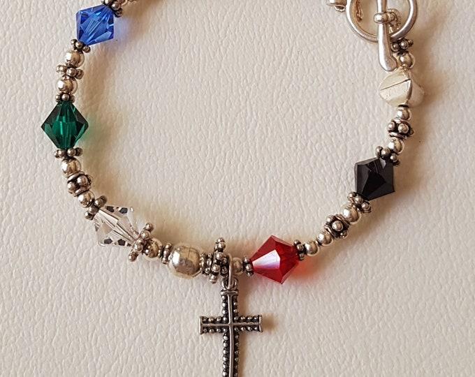 Salvation/Revelation Swarovski Bracelet