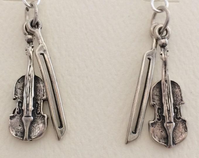 Sterling Silver Violins