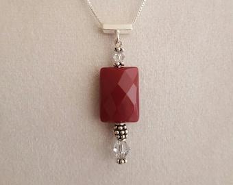 Ruby Quartz Pendant