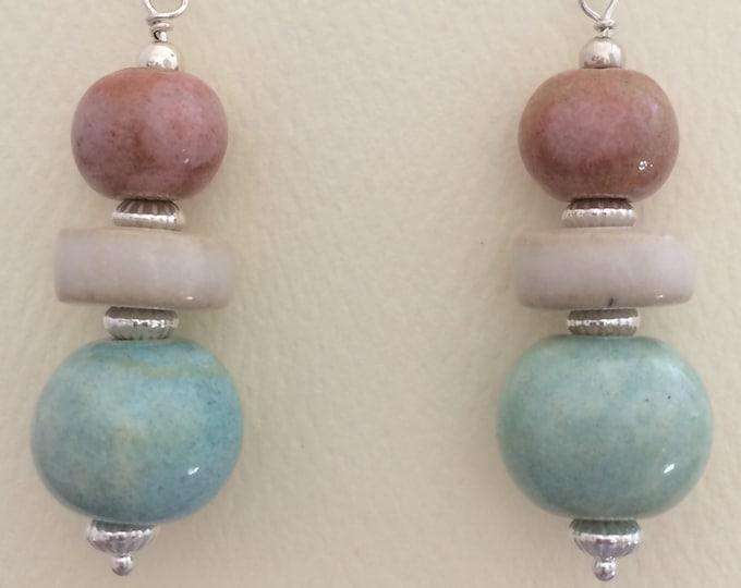 Pastel Ceramic Earrings