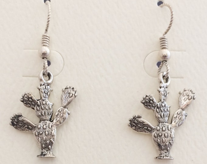 Sterling Silver Prickly Pear