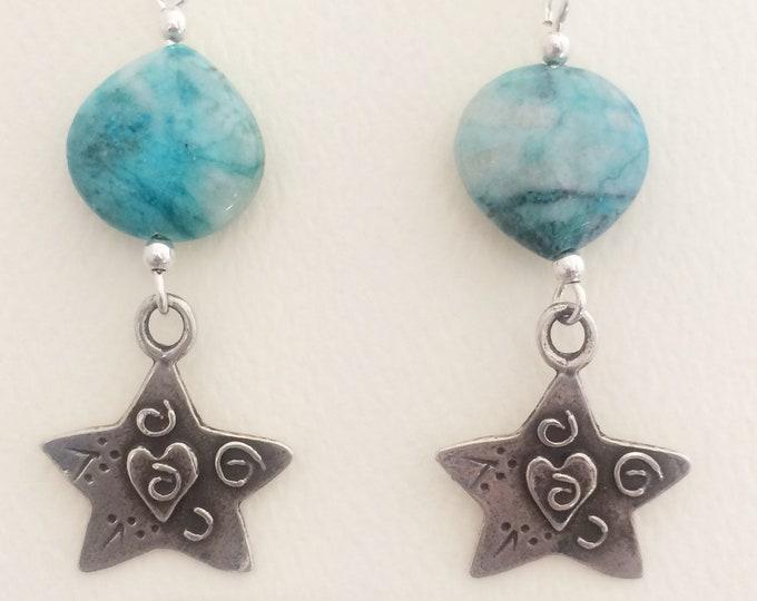 Sweet Stars & Hearts Earrings