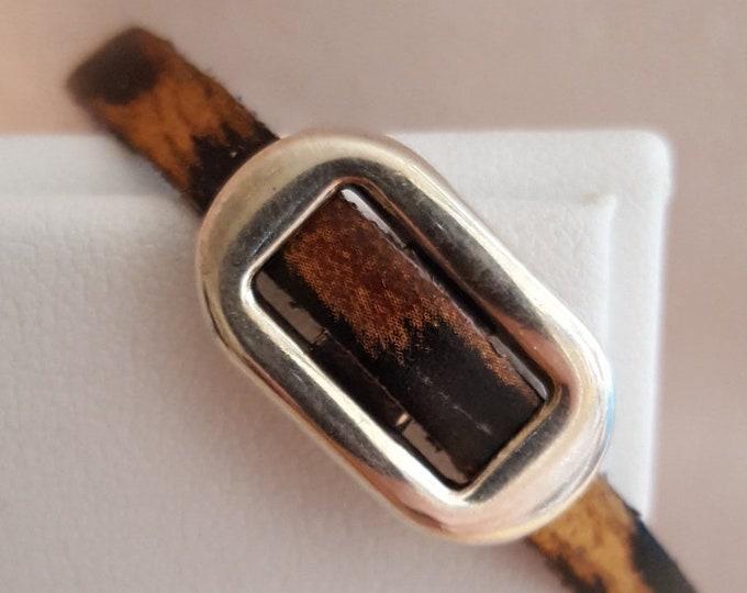 Delicate Leather Bracelet