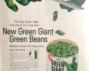 Vintage Green Giant Ad December 1960 The Saturday Evening Post