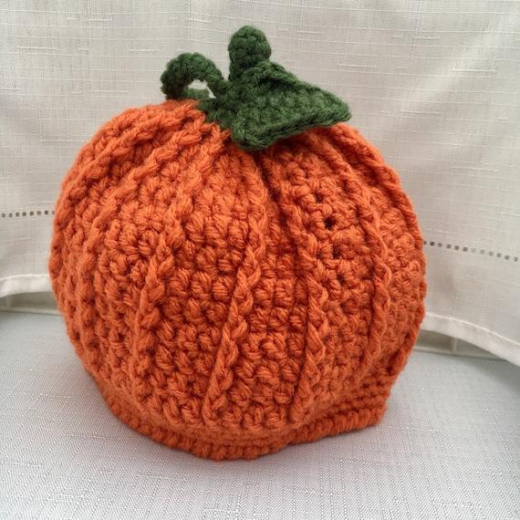 Pumpkin hat Crochet Pumpkin Hat Baby Pumpkin Hat Baby  2e76b66fb51