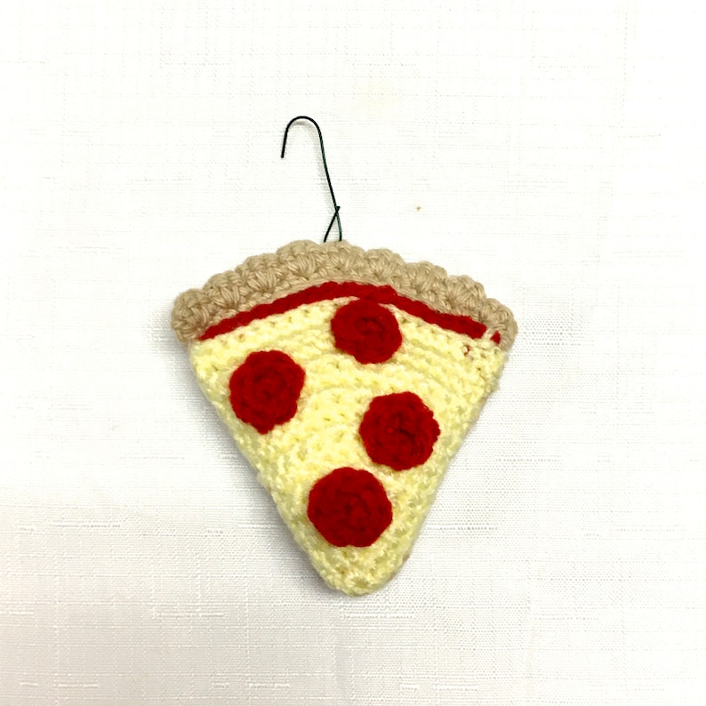 Pepperoni Pizza Ornament Gifts for Pizza Lovers Pizza Christmas Ornament Funny Christmas Ornaments