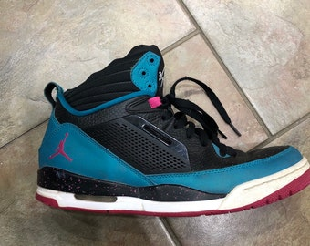 869c97709289a8 Air Jordan Flight Hi top shoes size 10 south beach colors basketball