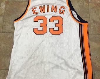 00013a52 Pat Ewing Mitchell & Ness New York Knicks NBA Jersey size 58