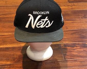 e80d9a047f4 Brooklyn Ners Cap Hat Mitchell   Ness snapback