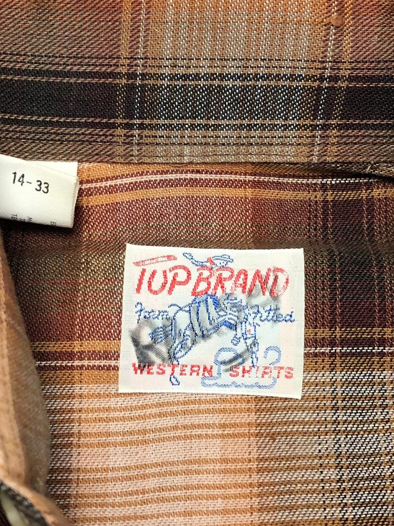 Vintage Wrangler denim pearl snap shirt 15 12-34 beauty