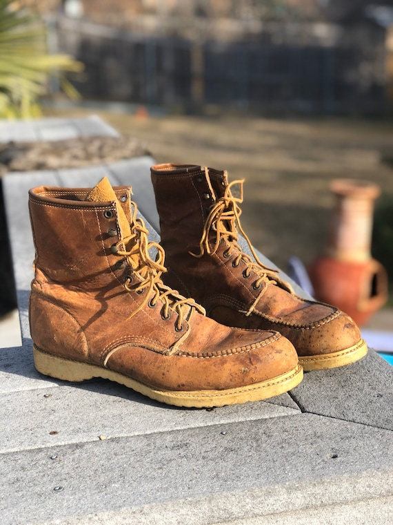Leather Oil Resistant Work Boots size 12