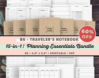 Travelers Notebook Insert Printable