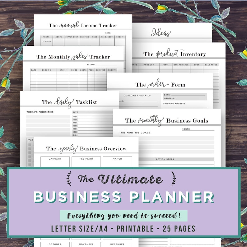 business planner free