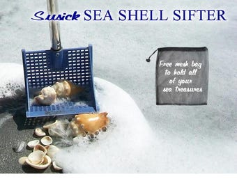 The Seashell Collecting Tool. Easily find shells and sea treasures for your beach and seashell crafts.