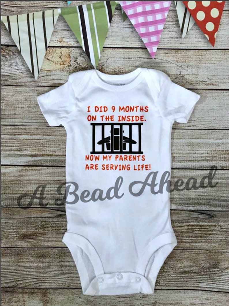 Baby bodysuit for boys and girls Cute Baby shower gift for image 0