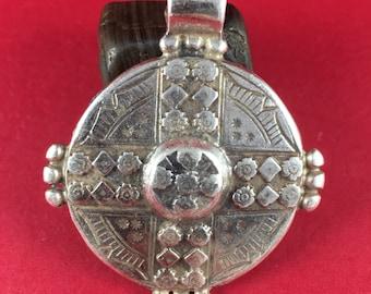 0016>>MADE IN EUROPE large pendant, zamak pendant, round pendant, large zamak pendant (7070s)Qty1