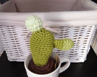 Whimsical crocheted Cactus