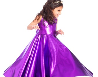 8b28224435 Girls purple dress