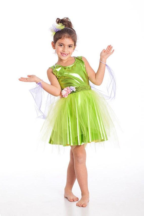 Halloween Kids Costumes Girls.Girls Costume Handmade Costume Kids Cosplay Kids Costumes Girls Halloween Costume Fairy Costume Tinkerbell Costume Girls Cosplay